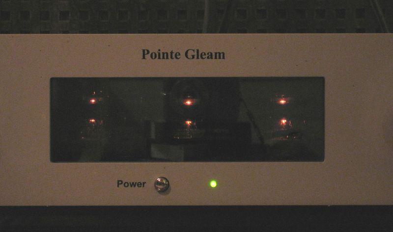 Pointe Gleam előfok csövek
